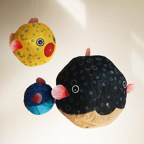 Kamifusen Paper Ballon | Fisch Set