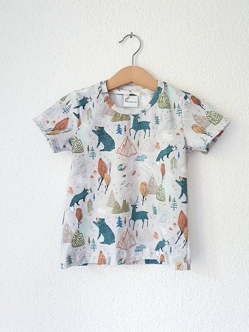 T-Shirt | Bären im Wald