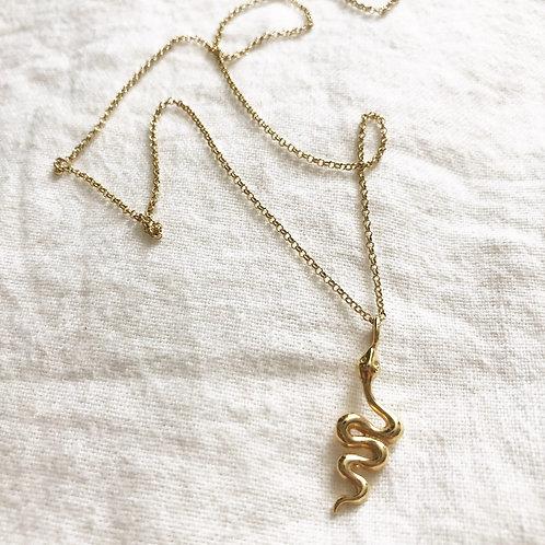 Halskette | Golden Snake