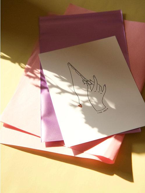 Postkarten | Liebe angeln