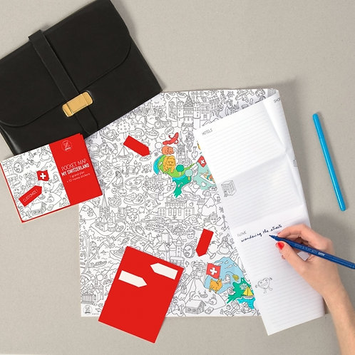 Pocket Map | Switzerland