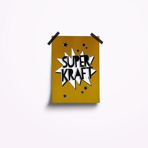 Postkarten | Superkraft gold