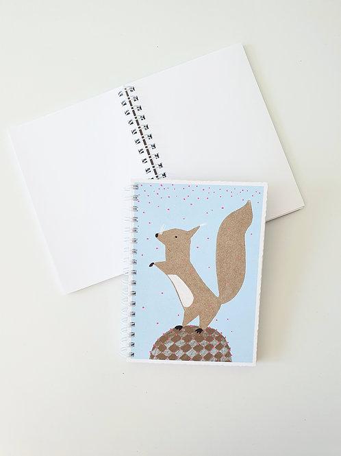 Notizbuch | Eichhörnchen