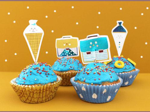 Cupcake-Set | Einschulung