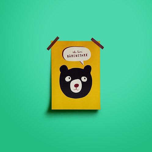 Postkarten | Ich bin Bärenstark