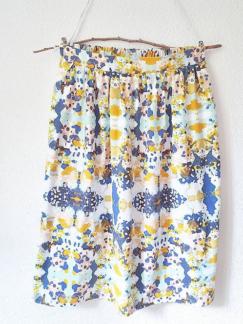 Maxi-Skirt size S | Watercolor