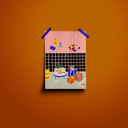 Postakarten | Küchengeschichte Merry Xmas