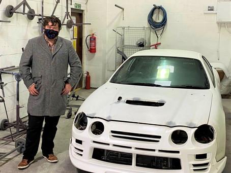 ProRepair repairing JayEmms Toyota Celica GT-Four