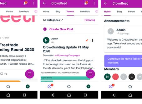 Crowdfunding update #2 May 2020