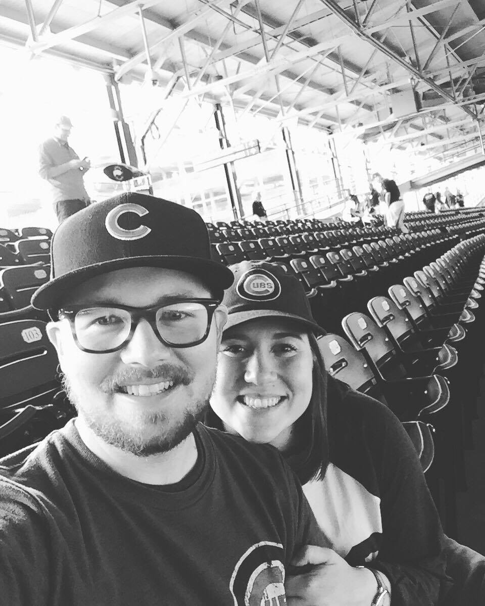 First Cubs Game