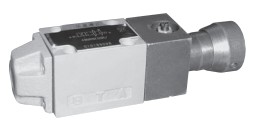 Directional control valves, manual operation, Type WMD