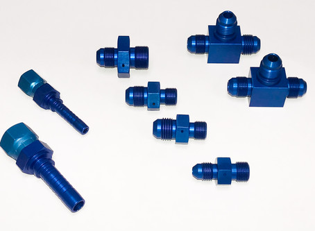 Metric Aluminum Drone Delivery Fittings