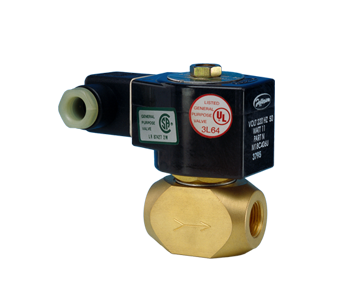 1356 Series - 2 Way Solenoid Valve for fuel Oil, Gas Oil, and oils mix