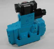 DSS Type Solenoid Controlled Pilot Operated Directional Valve