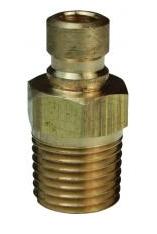 DQC CM-Series Industrial Mold Interchange Plug Male NPTF