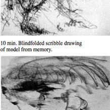 WORKSHOP EXERCISES 1 Scribbled Line and Blind Drawing