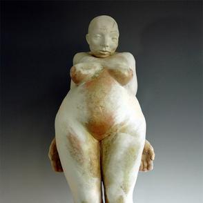 Trial Figure III, 2004  90 x 30 x 16 cm