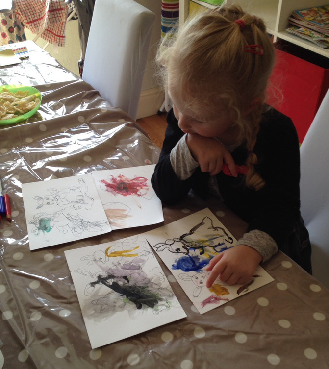 Music and Drawing: Nichola Harding Hope and Enfys-Haf