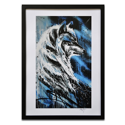 'The Wolf' A3 Print