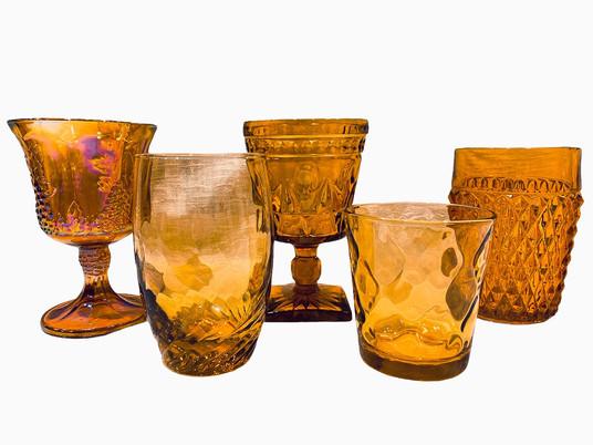 Amber Glassware 2