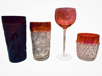 Red Glassware 2
