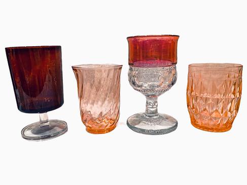 Red Glassware 1