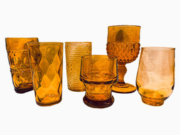 Amber Glassware 1
