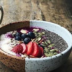 Chia Seeds Anti - Oxidant Smoothie Bowl