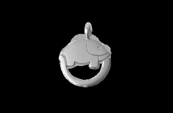 """Ciondolo """"sette sorridenti"""" Elefante dell'infinito"""