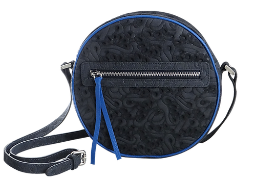 Tantocosì Borsa Round Arabesque Deep Sea