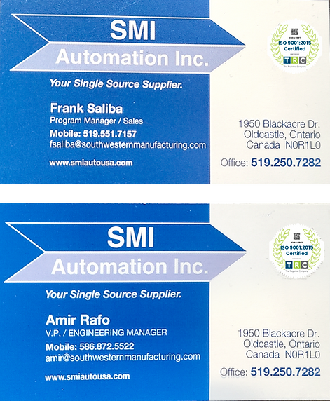 frank amd amirs business card for websit
