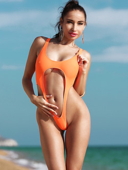 Most fashion hot sexy designer extreme swimwear fetish continuous thong transparent