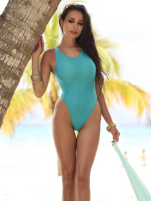One Piece Swimsuit Quot Turquoise Quot Touch Secret The Best