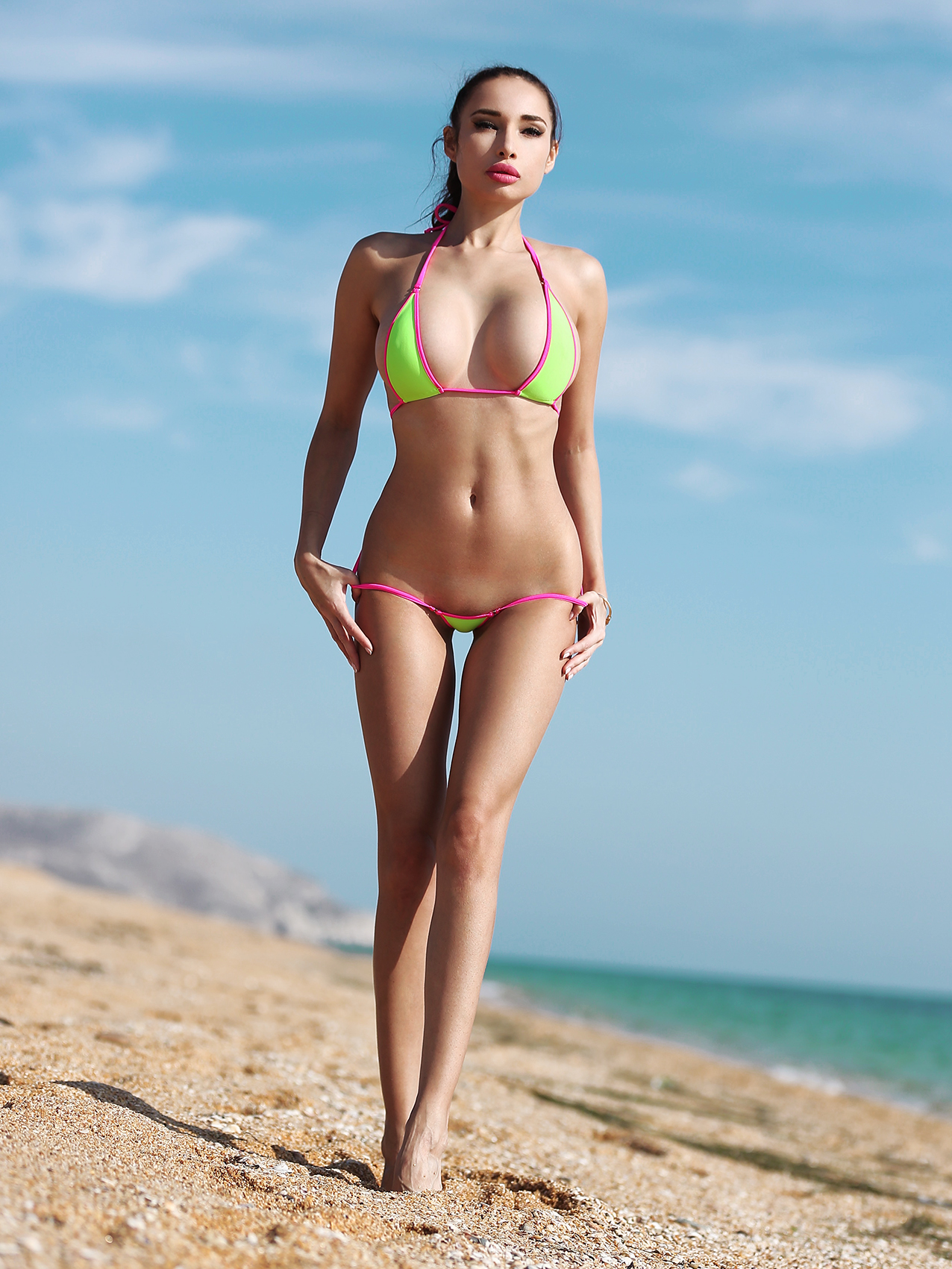 Most fashion hot sexy designer extreme swimwear mini micro bikini thong