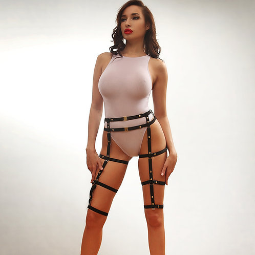 Harness on legs - Garter Maiya