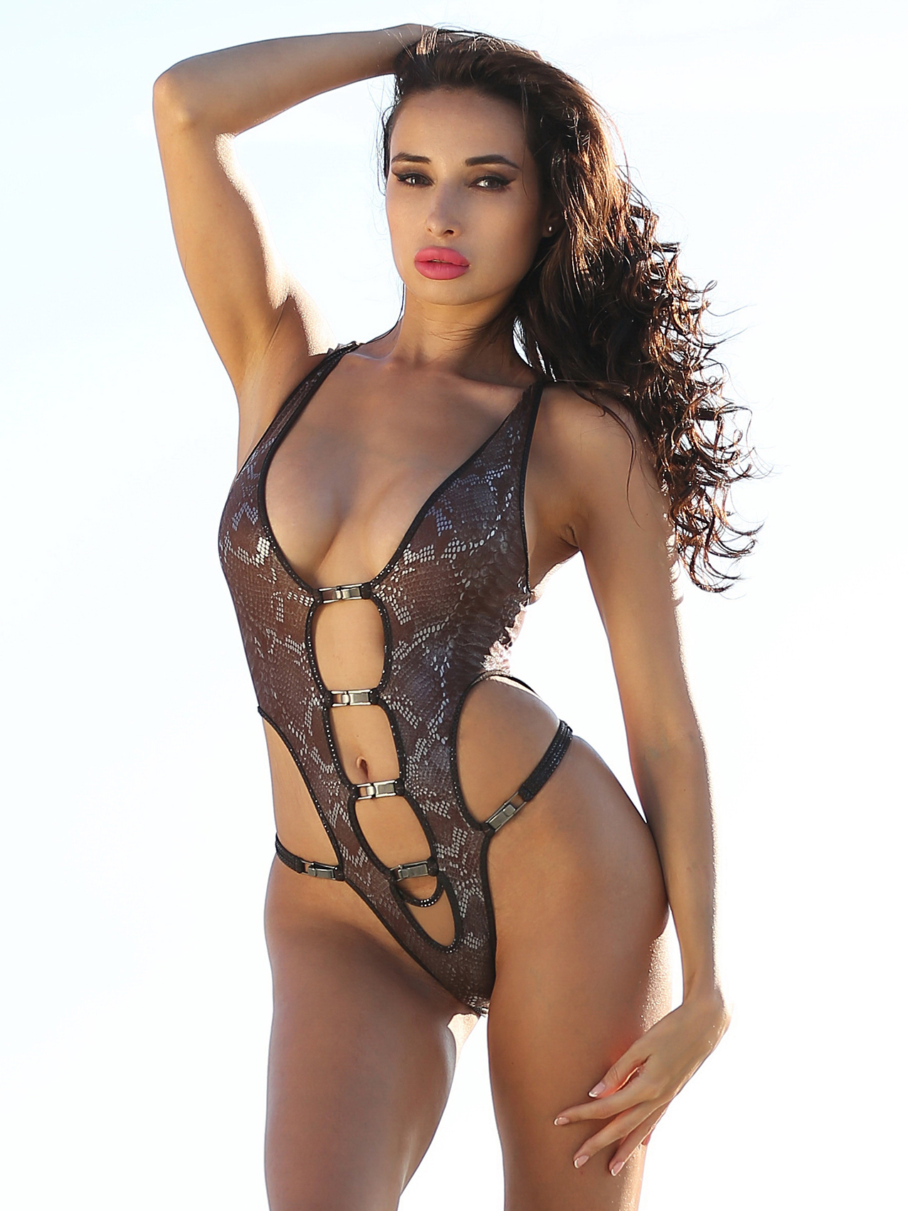 Most fashion hot sexy designer swimwear continuous brazilian