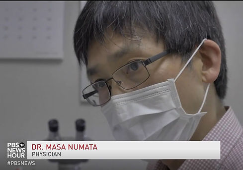 Dr. Numata's interview with PBS_Japan's