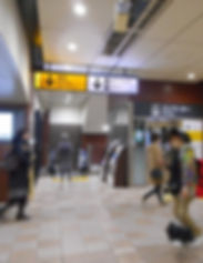 Kichijoji Station_North Exit_2nd floorJP
