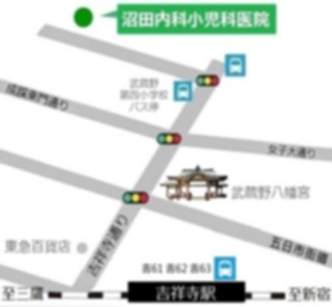 Numata Medical Clinic_map in Japanese.jp