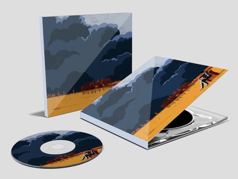 איור אלבום מוסיקה - רתם יראקצי