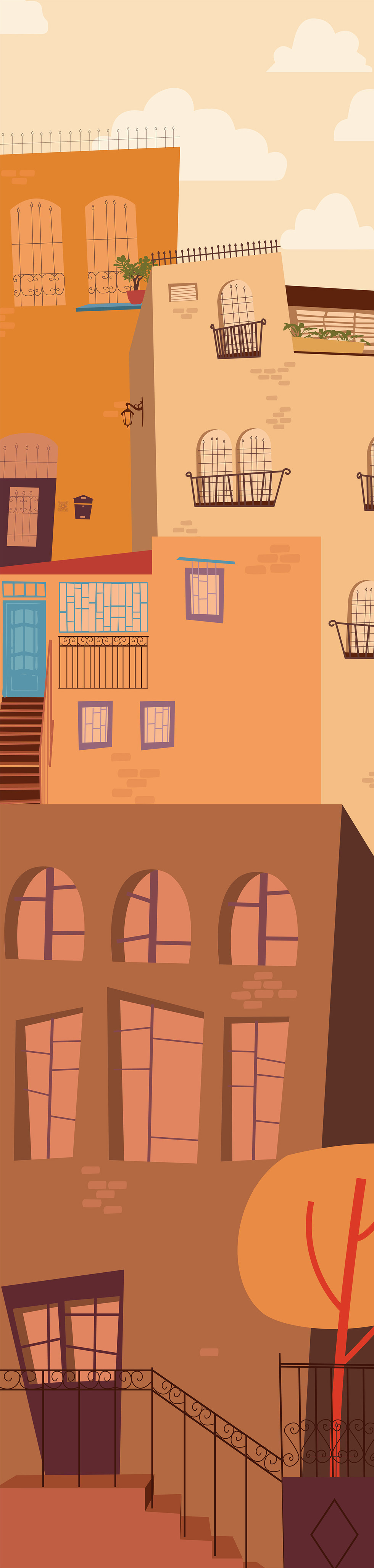 איור, עיצוב ואנימציה לקליפ מוסיקה, סרטון אנימציה קצר - רתם יראקצ'י