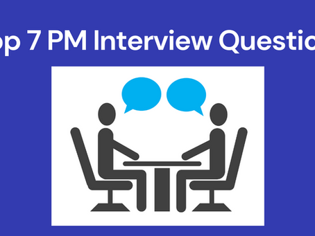 Seven Questions Project Manager's should ask at an Interview