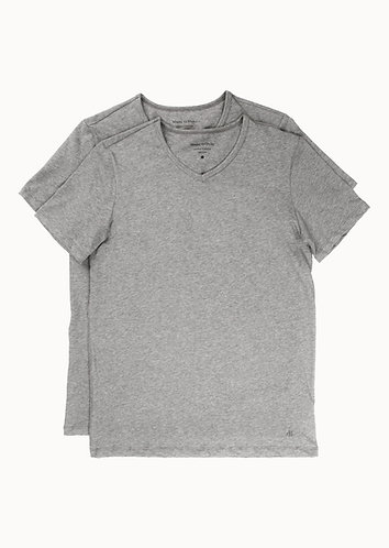MEN 2PACK SHIRTS - Shirt V-Neck 2Pack