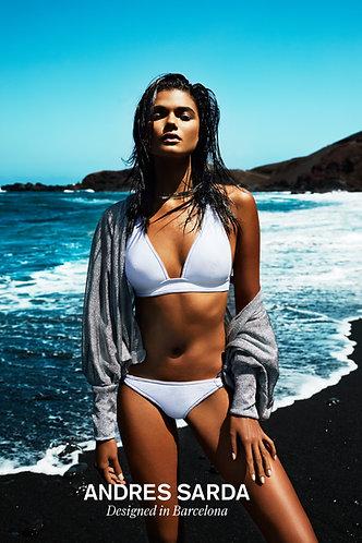ANDRES SARDA TANE - Bikini Triangel unterlegt - Cup B -C