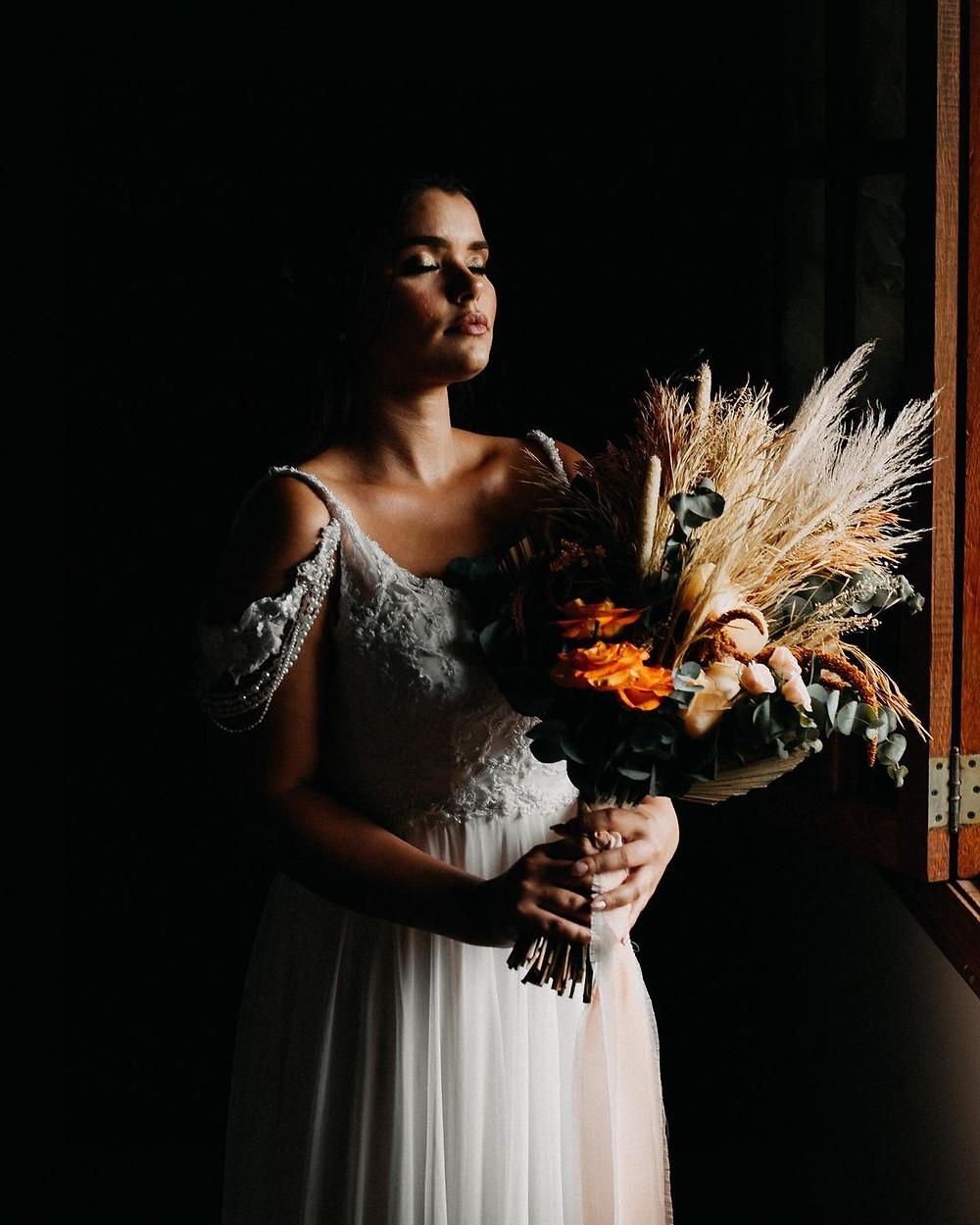 Vestido de noiva: Maison Delorée   Foto: Indio Silva