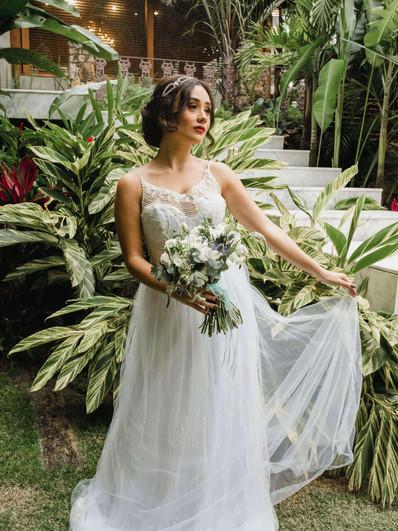Vestido de noiva Agapante