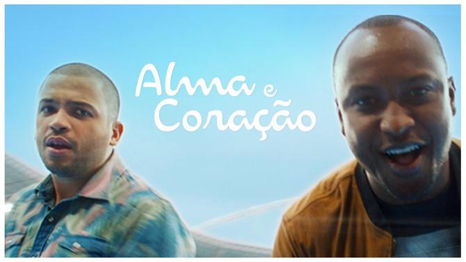 Música tema das Olimpíadas Rio 2016 nas vozes do sambista Thiaguinho e do rapper Projota