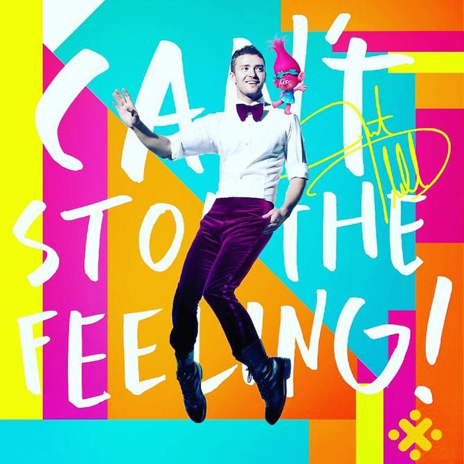 Novo single de Justin Timberlake está entre as mais tocadas no mundo. CAN'T STOP THE FEELING!