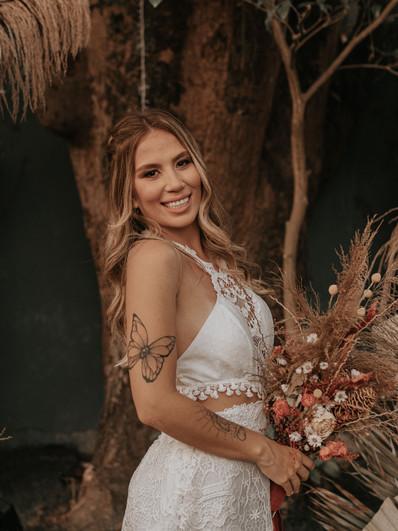 Vestido de noiva Sable
