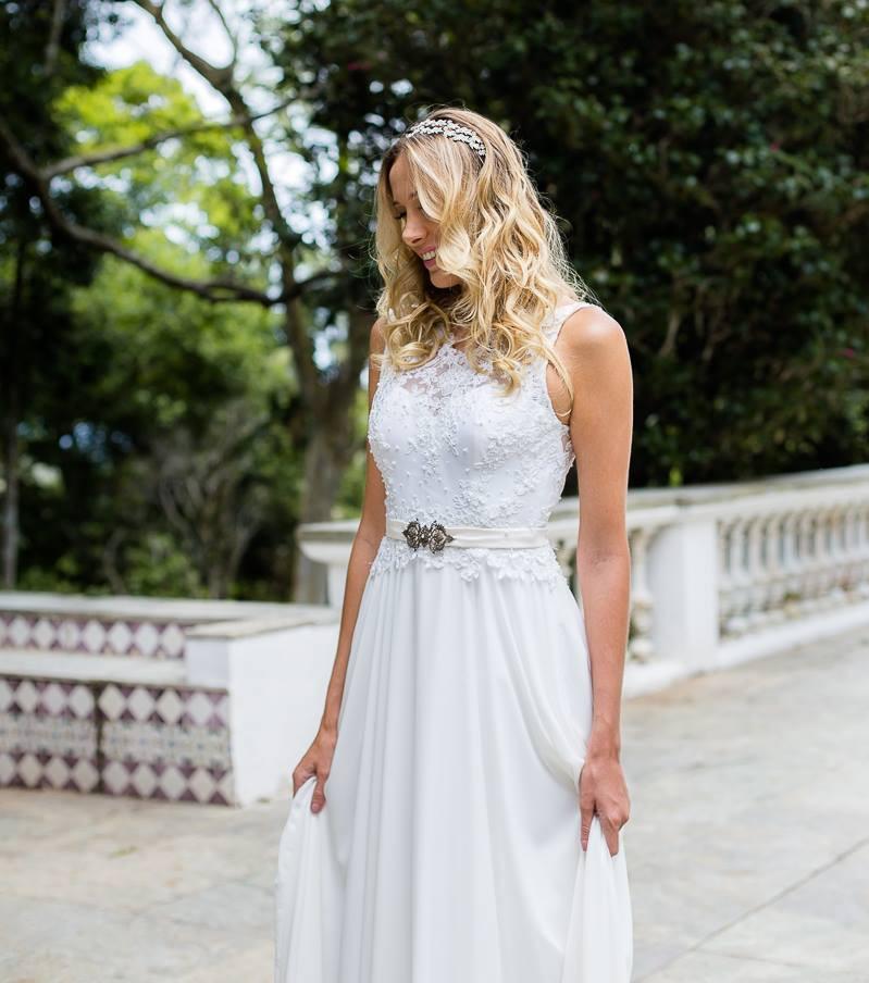 Vestido de Casamento Boho